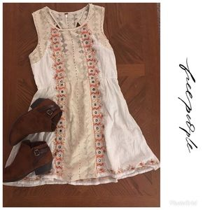 Free People Geometric Pattern Dress